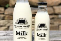 Farm Fresh Milk Bottled In Store
