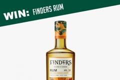 WIN A Bottle of Finders Rum