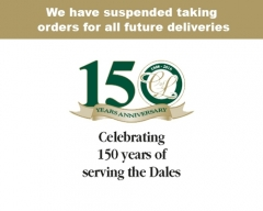 We have suspended taking orders for all future deliveries