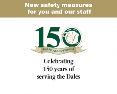 New safety measures for you and our staff