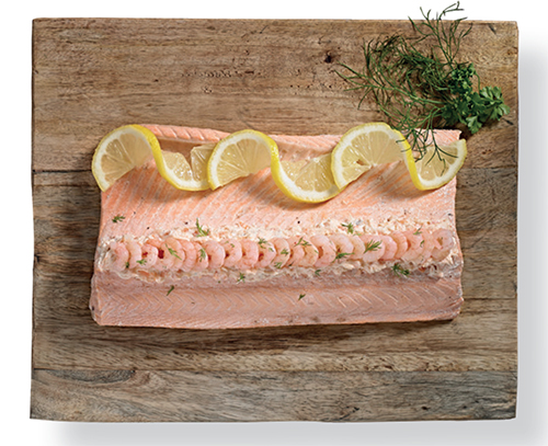 Ramus Seafood Poached Fillet Of Salmon