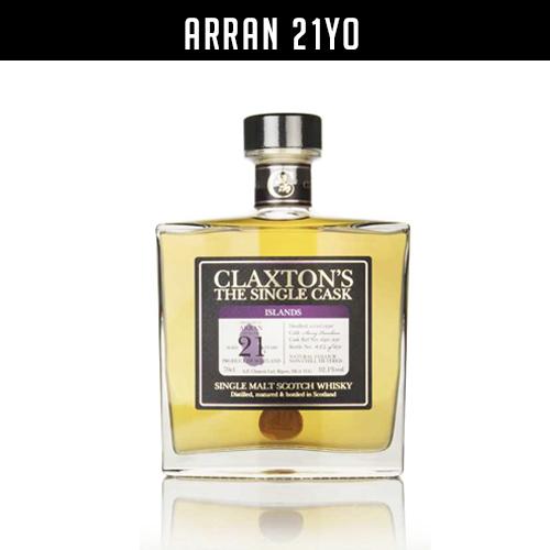 Claxton's Arran 21 year old