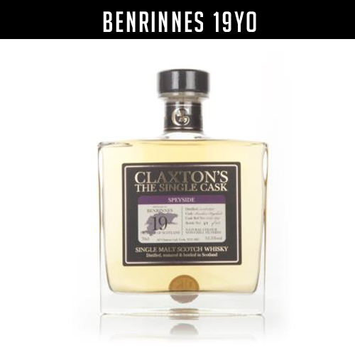 Claxton's Benrinnes 19 year old